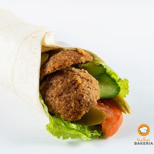 Drivu Falafel in Tortilla Wrap