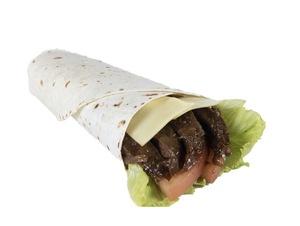 Drivu BBQ Steak & Cheese in Tortilla