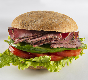 Drivu Beef Pastrami Lunch Bap