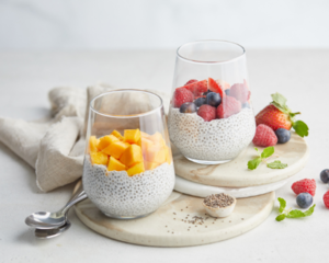 Drivu Chia Pudding with Mixed Berries