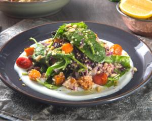 Drivu Roasted Pumpkin and Goat Cheese Salad