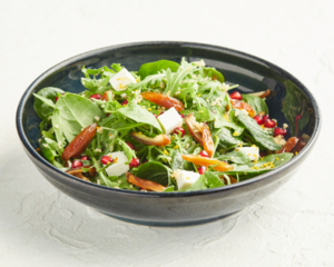 Drivu Pomegranate and Date Salad