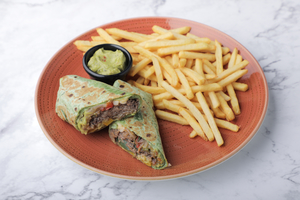 Drivu Pulled Beef wrap