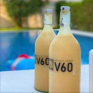 Drivu Iced Latte Bottle (1 liter)