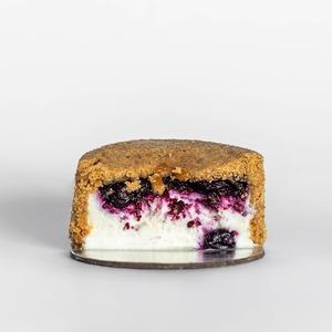 Drivu Upside Down Blueberry Cheesecake