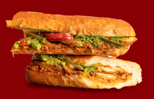 Drivu Cajun Chicken Sandwich