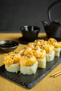 Drivu Shrimp Popcorn Roll