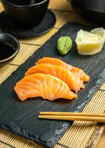 Drivu Salmon Sashimi