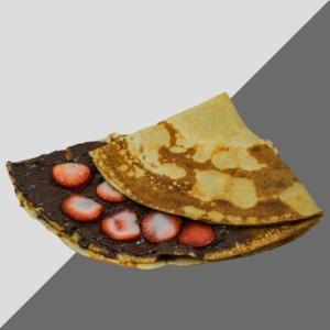Drivu Nutella Strawberry Crepe