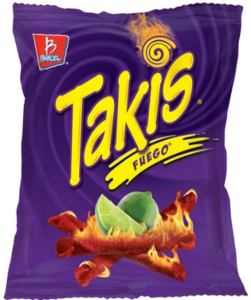 Drivu Takis Chips Fuego