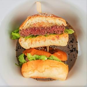 Drivu Truffle & Mushroom Burger