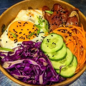 Drivu Kimchi Rice Bowl