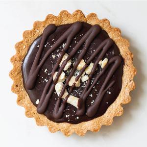 Drivu Chocolate Hazelnut Tart (1 piece)