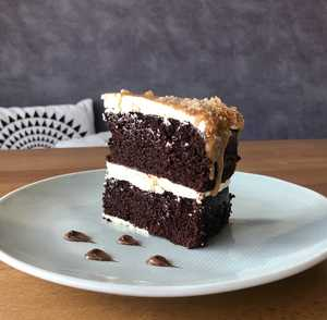 Drivu Salted Caramel Cake (30% off)