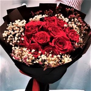 Drivu 11 Hand Rose Bouquets