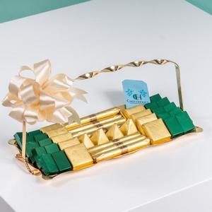 Drivu Unique Handle Golden Tray