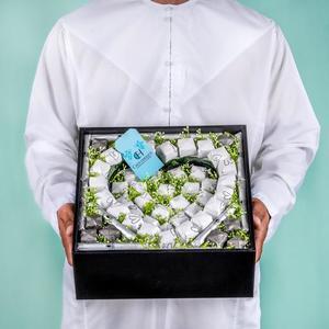 Drivu Black Box with Heart Shaped Chocolate