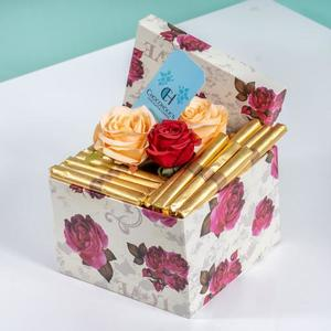 Drivu Flowers Box with Our Cigar Chocolate