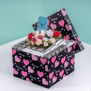 Drivu Heart Shape Unique Black & Pink Box