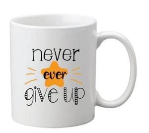 Drivu Never Ever Give Up Mug