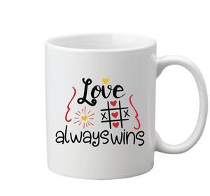 Drivu Love Always Wins Mug