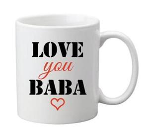 Drivu Love You Baba Mug
