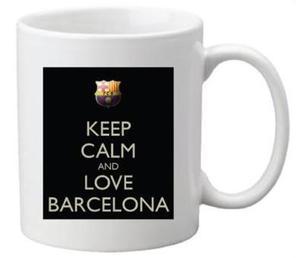 Drivu Keep Calm & Love Barcelona Mug