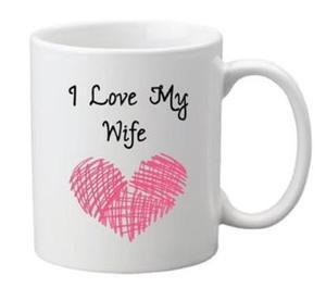 Drivu I Love My Wife Mug