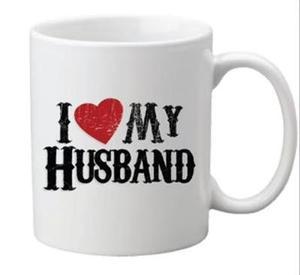 Drivu I Love My Husband Mug