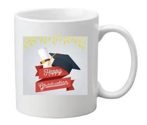 Drivu Happy Graduation 03 Mug (red banner)