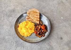 Drivu Mushroom & Egg Breakfast