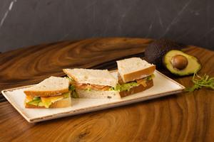 Drivu Salmon & Avocado Sandwich