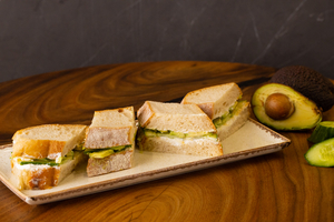 Drivu Labneh & Avocado Sandwich