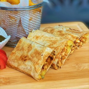 Drivu Chicken Shawarma Lebanese  Wrap