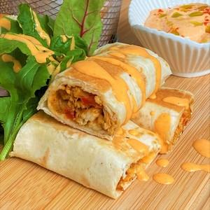 Drivu Chicken Shawarma Mexican Wrap