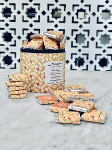 Drivu White Chocolate with Saffron Box of 35 Bites