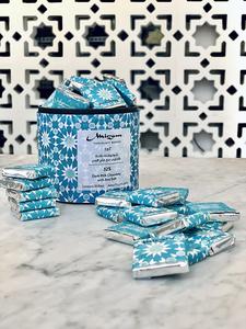Drivu 52% Dark Milk Chocolate with Sea Salt Box of 35 Bites