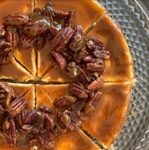 Drivu Pecan Caramel Cheesecake