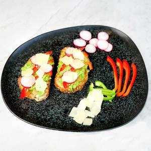 Drivu Guacamole Toast