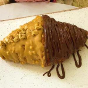 Drivu Hazelnut & Peanut Butter Croissant