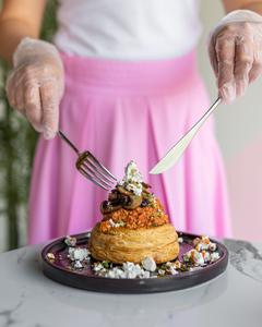 Drivu Egg Menemen in Puff Pastry