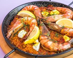 Drivu Seafood Paella