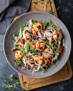 Drivu Papaya & Prawn Salad