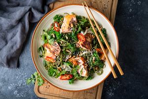 Drivu Soy & Maple Salmon Matcha Noodles