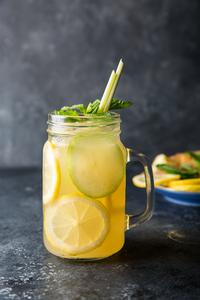 Drivu T2 Lemongrass & Ginger Iced Tea