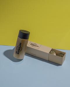 Drivu Mini Bomboloni with Iced Latte