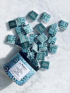 Drivu 62% Dark Chocolate with Moroccan Mint Tea Box of 35 Bites
