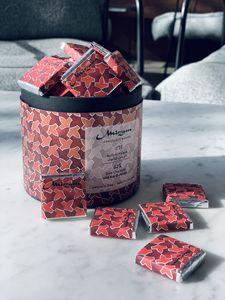 Drivu 62% Dark Chocolate with Ras El Hanout Box of 35 Bites