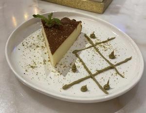 Drivu San Sebastian Cheesecake (pistachio)