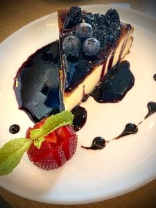 Drivu San Sebastian Cheesecake (blueberry)